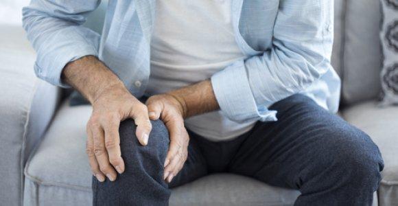 skauda koja is klubo sąnarių pėdos skausmas