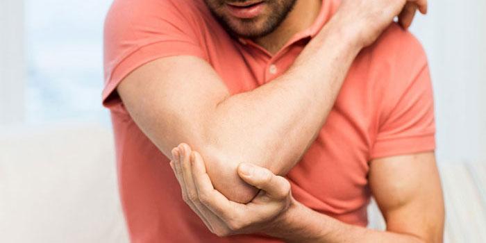 gerklės sąnarių ir alkūnės gydymas kietėjimo sustav