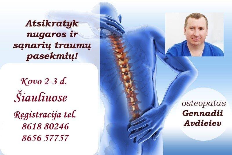 galvos kaklo osteochondrozė gydymas liaudies gynimo