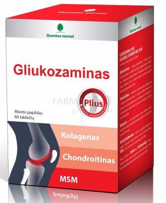kompleksas gliukozamino chondroitino už tai ką