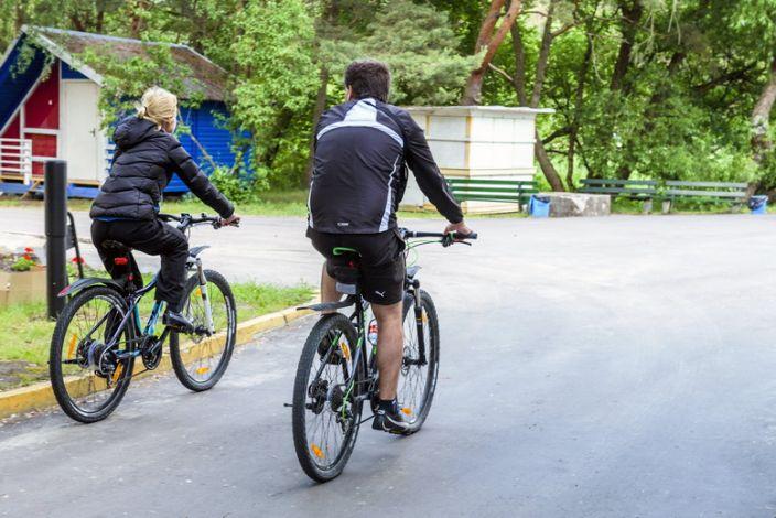 sąnarių skausmas po dviračio