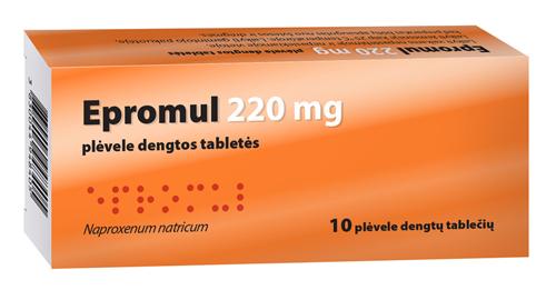 ką tabletes kai uždegimas sąnarių