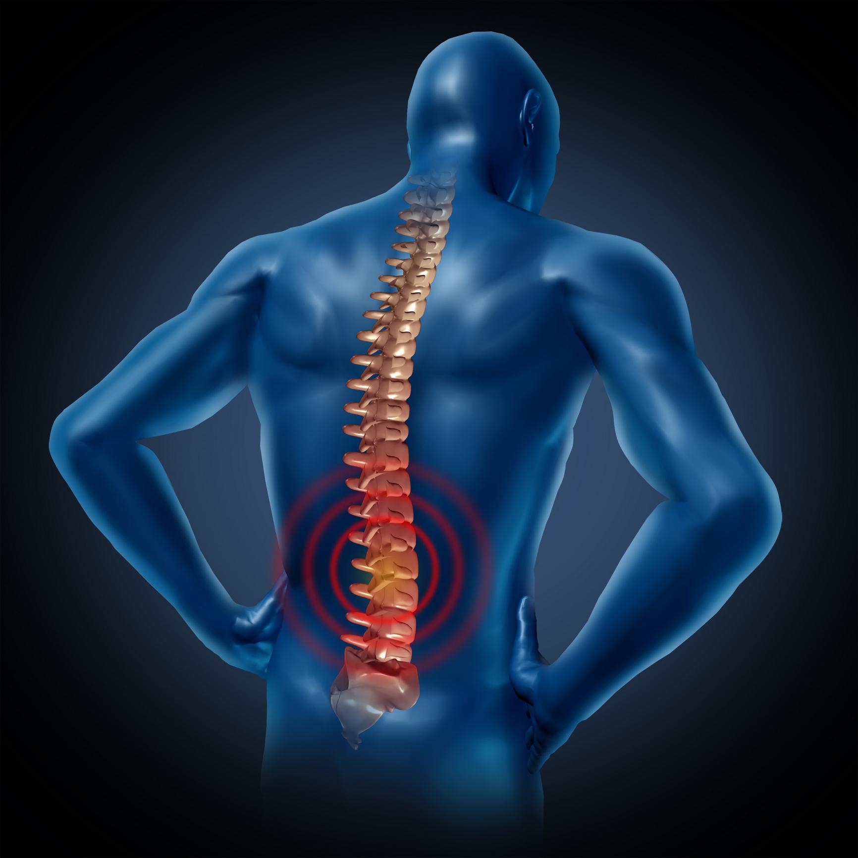 skausmas apatinėje nugaros ir sąnarių priežastys ir gydymas