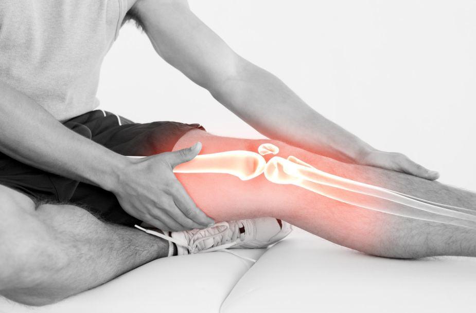 gręžinių sąnarių skausmą